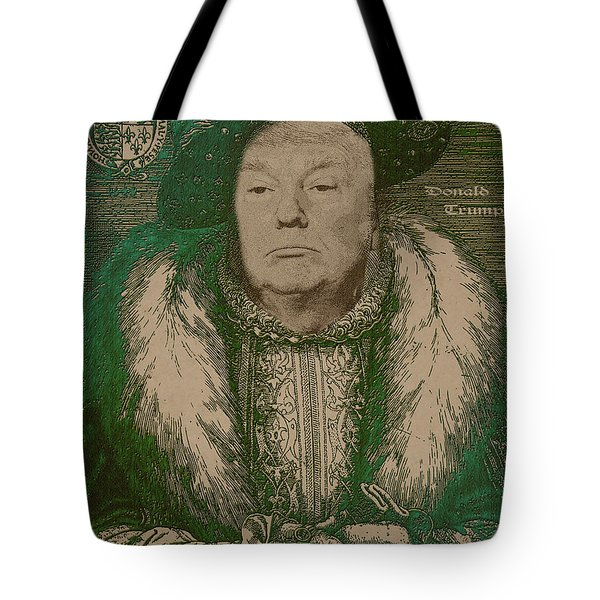 Celebrity Etchings - Donald Trump Tote Bag