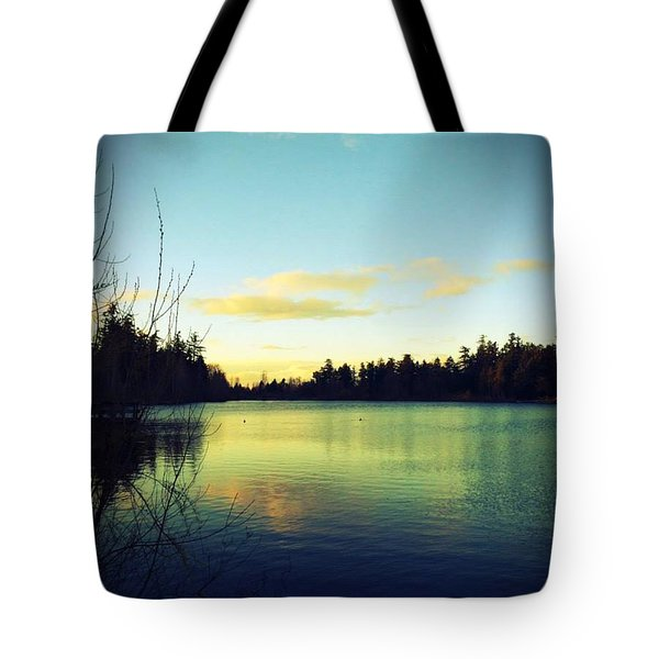 Center Of Peace Tote Bag
