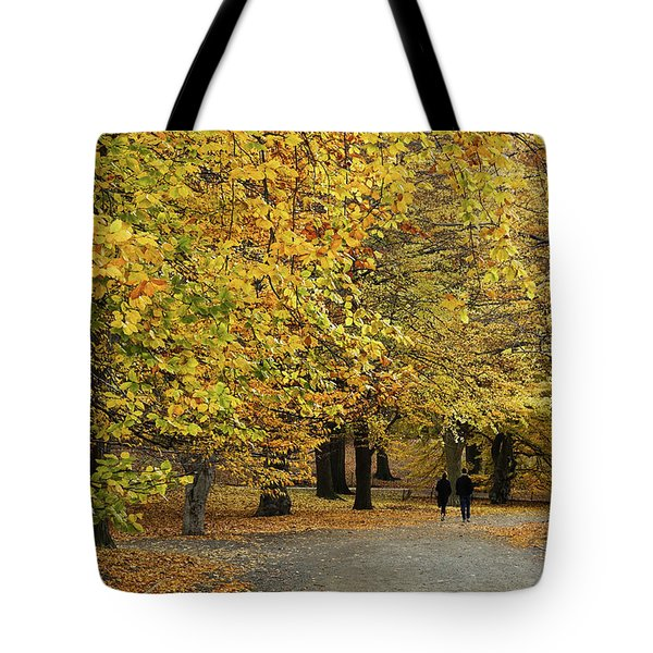 Central Park Gold Tote Bag