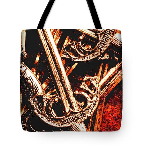 Centurion Of Battle Tote Bag