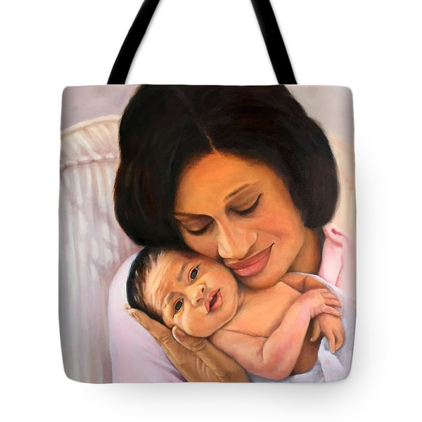 Chanelle And Kaycee Victoria Tote Bag