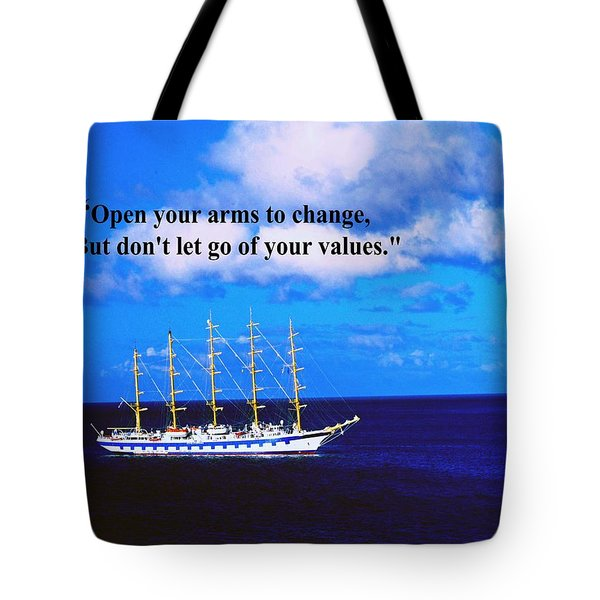 Change Tote Bag by Gary Wonning
