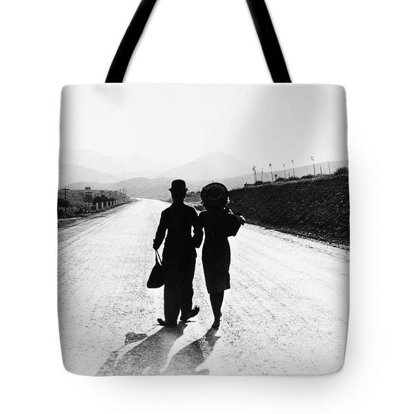 Tote Bag featuring the photograph Modern Times 1936 by Granger