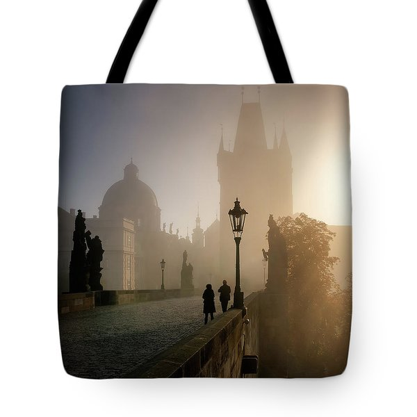 Charles Bridge, Prague, Czech Republic Tote Bag