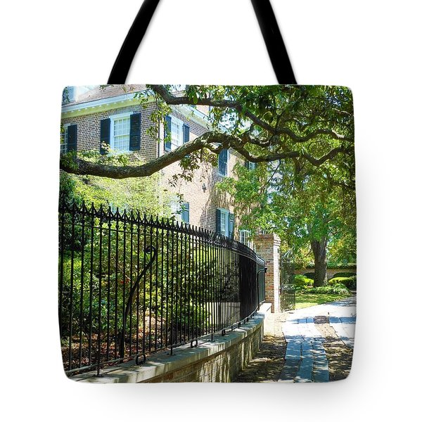 Charming Charleston Tote Bag by Kay Gilley