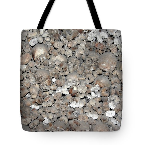 Tote Bag featuring the photograph Charnel House by Michal Boubin