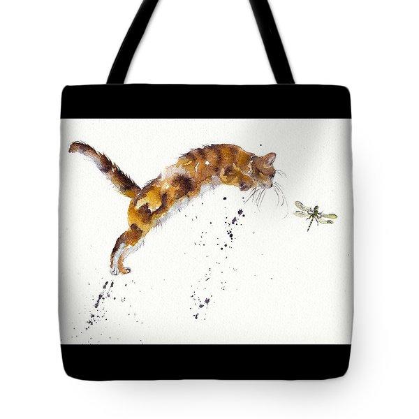 Chasing The Dragon Tote Bag