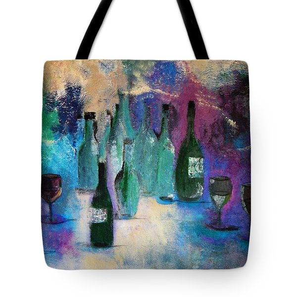 Tote Bag featuring the painting Cheers by Lisa Kaiser