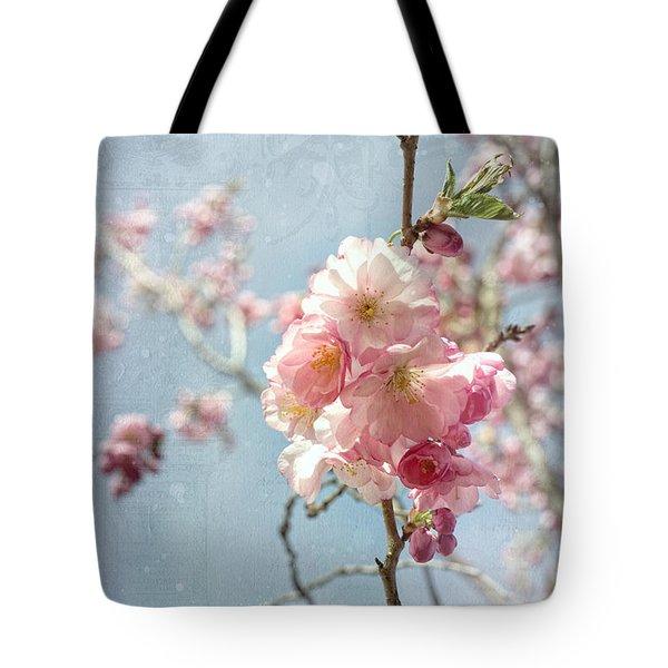 Cherrie Blossom Tote Bag