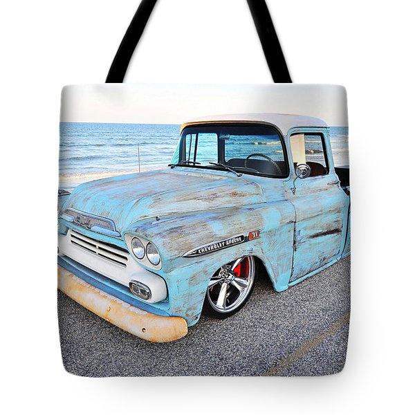 Chevrolet Apache Tote Bag