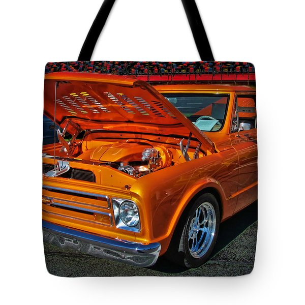 Chevy Stepside Tote Bag