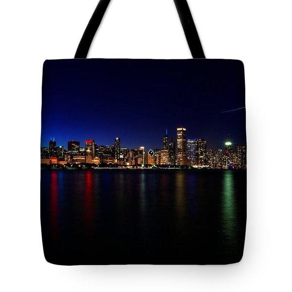 Chicago-skyline 3 Tote Bag