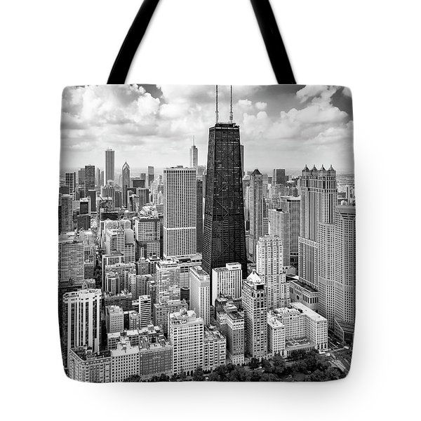 Tote Bag featuring the photograph Chicago's Gold Coast by Adam Romanowicz