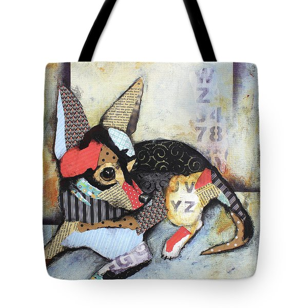 Chihuahua Tote Bag by Patricia Lintner
