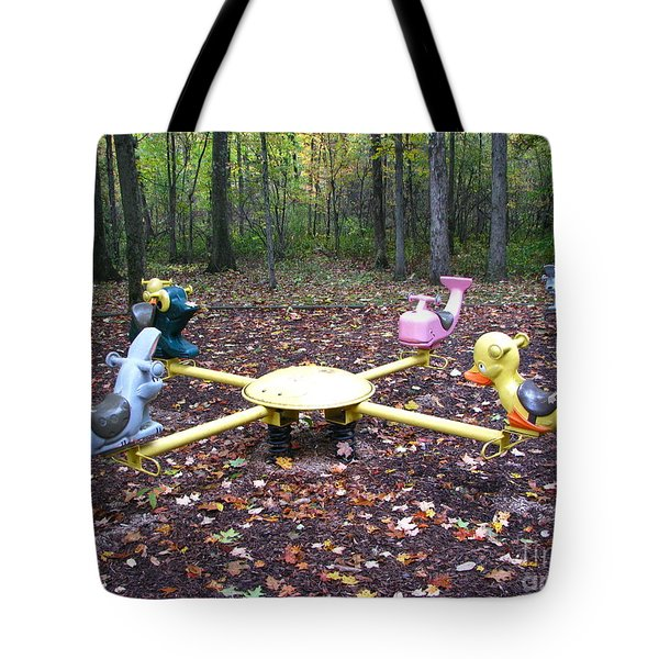 Tote Bag featuring the photograph Childhood Memories by Michael Krek