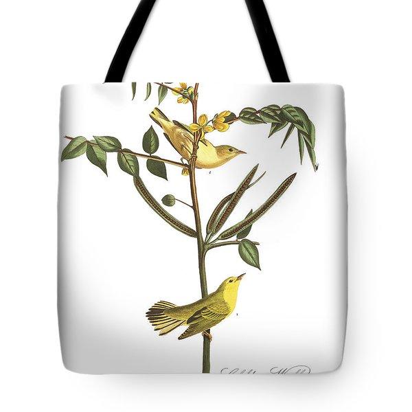 Children's Warbler Tote Bag by John James Audubon