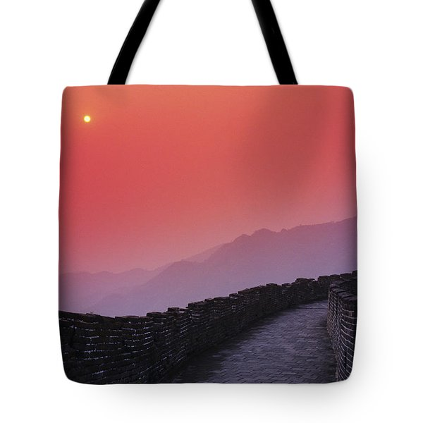China, Mu Tian Yu Tote Bag by Gloria & Richard Maschmeyer - Printscapes