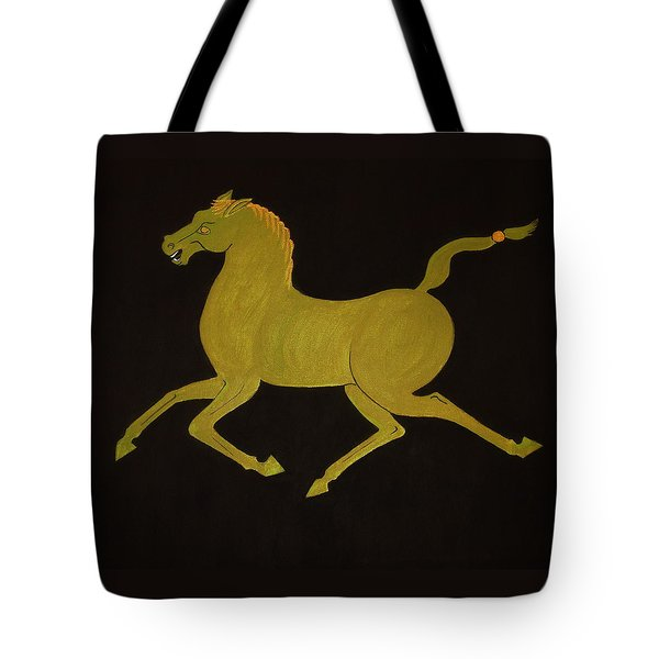 Chinese Horse #2 Tote Bag by Stephanie Moore
