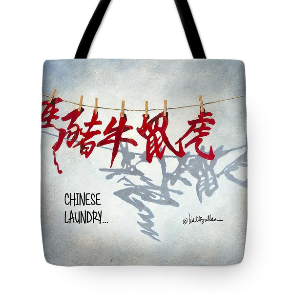 Chinese Laundry... Tote Bag
