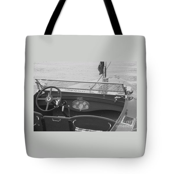 Runabout On Pewaukee Tote Bag