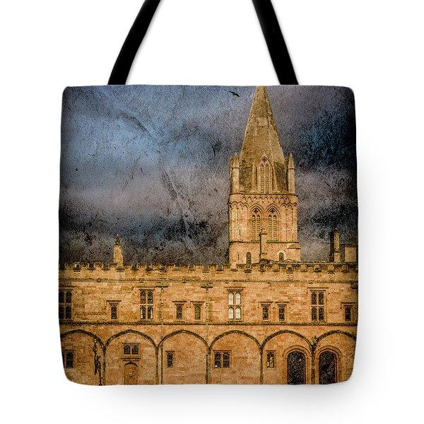 Oxford, England - Christ Church College Tote Bag