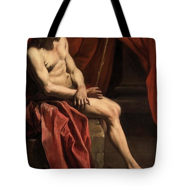 Christ Mocked Tote Bag