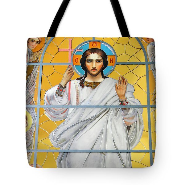 Tote Bag featuring the photograph Christ The Redeemer by KG Thienemann