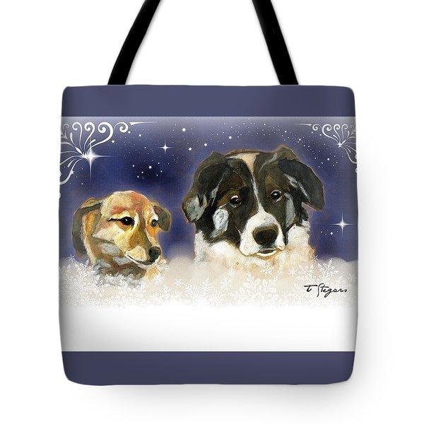 Christmas Doggies Tote Bag