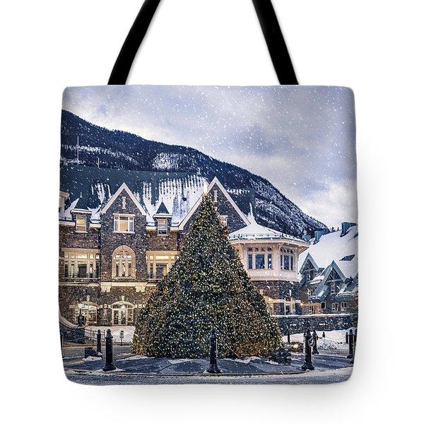 Christmas Dreams Tote Bag