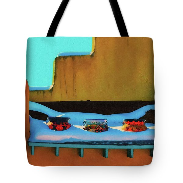 Christmas Morning Taos Tote Bag
