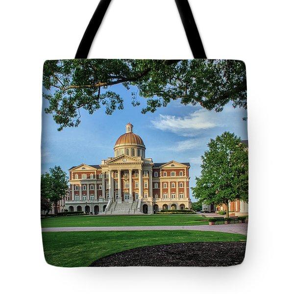 Christopher Newport Hall Tote Bag
