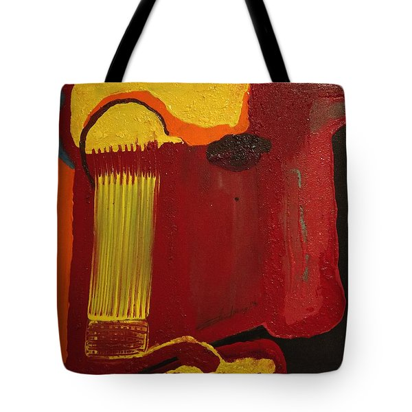 Christ's Profile Tote Bag