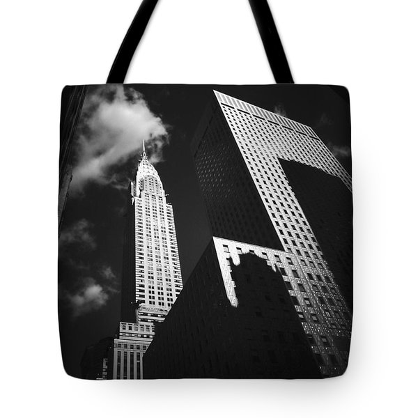 Chrysler Building - New York City Tote Bag by Vivienne Gucwa