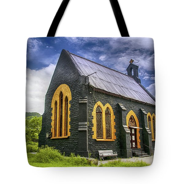Tote Bag featuring the photograph Church by Charuhas Images
