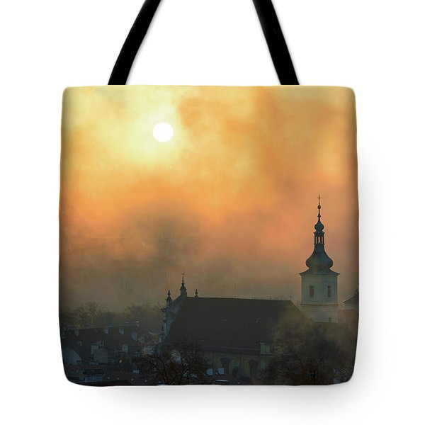 Church Of Our Lady Victorious, Prague, Czech Republic. Tote Bag