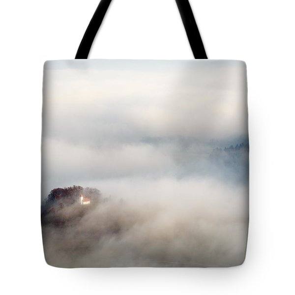 Tote Bag featuring the photograph Church Of Saint Lawrence by Ian Middleton