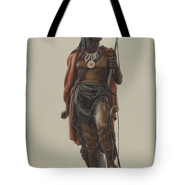 Cigar Store Indian Tote Bag