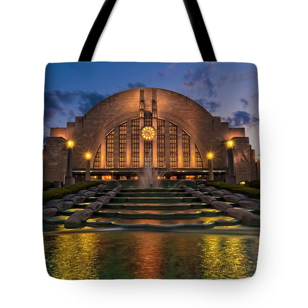Cincinnati Museum Center At Twilight Tote Bag