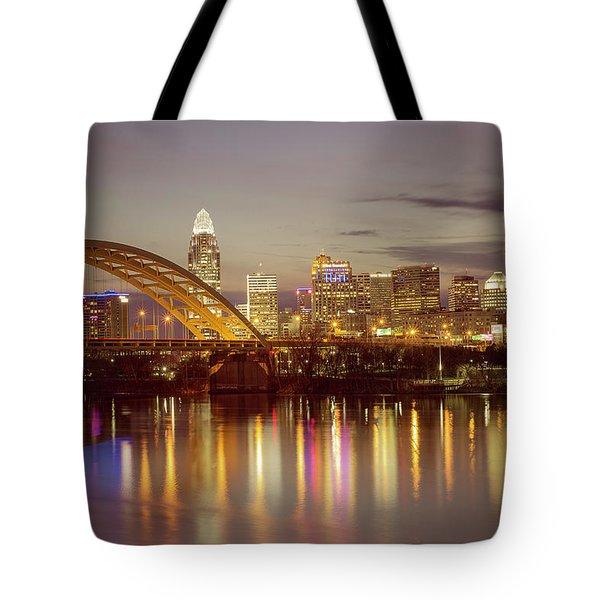 Cincinnati Tote Bag by Scott Meyer