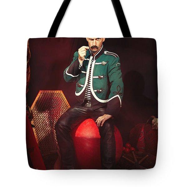 Circus Performer Tote Bag