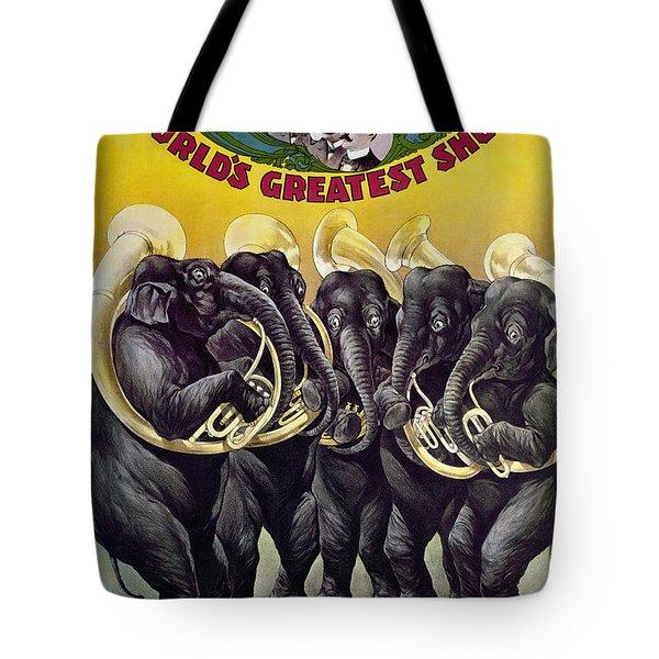 Circus Poster, C1899 Tote Bag by Granger