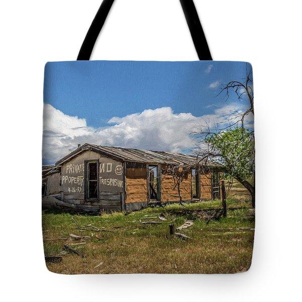 Cisco, Utah, Ghost Town Tote Bag