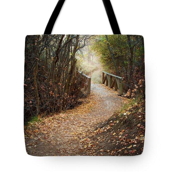 City Creek Bridge Tote Bag