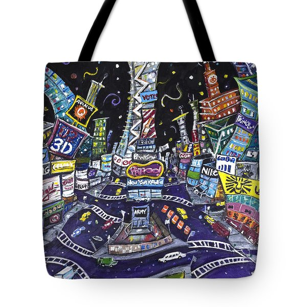 City Of Lights Tote Bag by Jason Gluskin