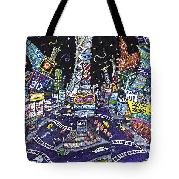 City Of Lights Tote Bag by Jason Gluskin