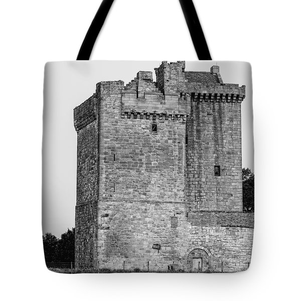 Clackmannan Tower Tote Bag by Jeremy Lavender Photography