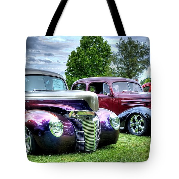 Tote Bag featuring the photograph Classic Shine by Tyra OBryant