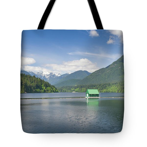 Tote Bag featuring the photograph Cleveland Dam by Ross G Strachan