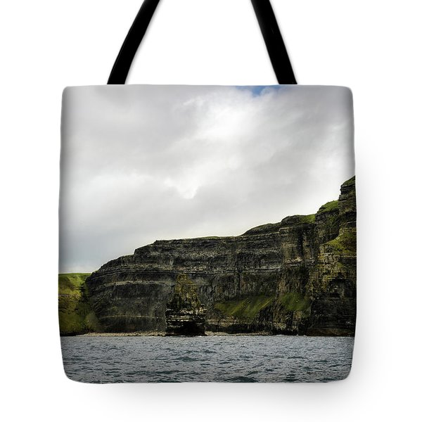 Tote Bag featuring the photograph Cliffs Of Moher From The Sea by RicardMN Photography