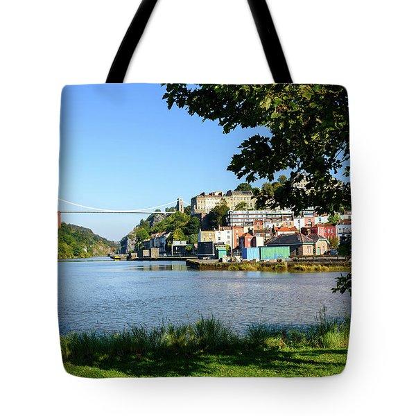 Clifton Suspenion Bridge Tote Bag